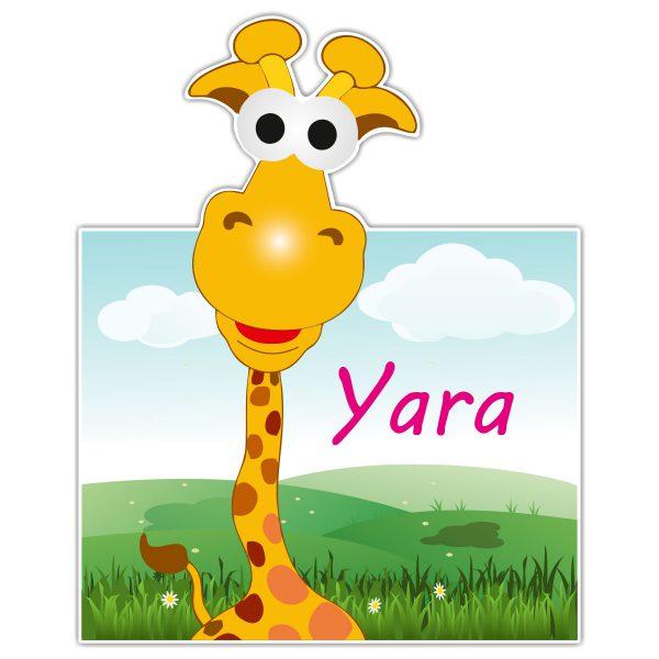 Geboortebord Fun Giraffe meisje