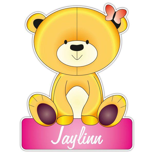 geboortebord Teddy meisje